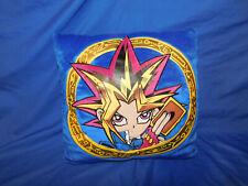 "Rare 1996 Yugioh Throw Pillow Cushion Character Disc Kazuki Takahashi  14"" Duel"