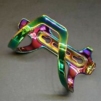 Oil Slick/TI Anodized Right Side Load Bicycle Water Bottle Cage MTB-Road