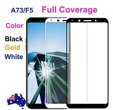 Anti Scratch 9H Tempered Glass Screen Protector For Oppo A73 F5 full coverage