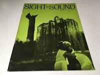 Sight And Sound Vintage Cinema Movie Magazine Summer 1965 Art Film Fellini 60's