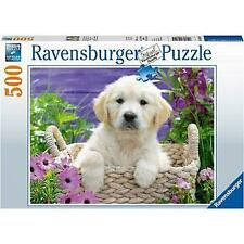 Ravensburger Sweet Golden Retriever Puzzle 500 Piece Jigsaw Puzzle