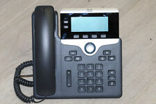 Cisco CP-7841-K9 VoIP IP Phone UC GigE PoE Telephone w/ Handset and Stand