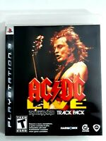PS3 Playstation 3 AC/DC Live Rockband Track Pack video game pre-owned