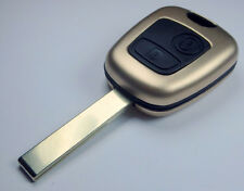 Key shell MODIFITE SET PEUGEOT / CITROEN  GOLD COLOR