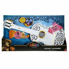 Coco Interactive Guitar Mattel Kids Disney Pixar Light Up 8 Chord Sound DMG BOX