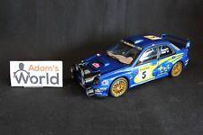 AutoArt Subaru Impreza S7 WRC '01 1:18 #5 Burns / Reid Rallye MC (JvdM) NR