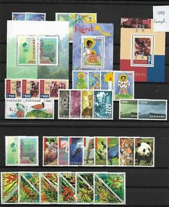 Suriname @ Year 1999   Complete MNH @ Sur.97