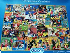 Christmas Crackers By Beryl Peters - 1000 pc Gibsons Puzzle - Great Condition