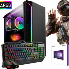 GAMER PC AMD FX? 9830 8GB DDR4 240GB SSD Radeon R7 4K GRAFIK Windows 10 Computer