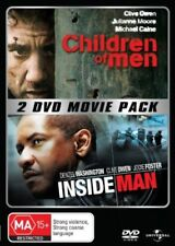 Children of Men/Inside Man (DVD,2-Disc Set)*Terrific Condition*Clive Owen*R4*
