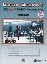Gordon Goodwin's Big Phat Band Play-Along 1 Drums Drum Set Sheet Music Book & CD