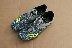 Men's Saucony XC Running Shoes with spikes size 12