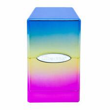 Ultra Pro Satin Tower Deck Box - Hi-Gloss - Rainbow New
