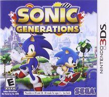 Sonic Generations (Nintendo 3DS, 2011)