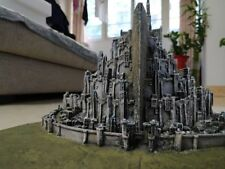 THE-Lord of the Rings Minas Tirith Resin statue Desktop Decoration Figurines NEW