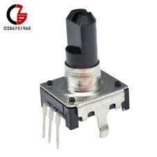 2pcs 15mm Handle Ec12 Rotary Encoder Switch Audio Digital Potentiometer 5v 10ma