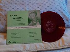ALAN McGILL (BARITONE) . WITH RALPH CARMICHAEL ORCHESTRA .. SACRED LP RED VINYL
