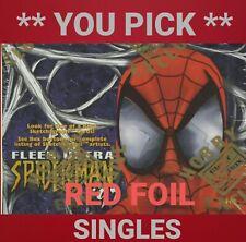 SPIDER-MAN - 1997 FLEER ULTRA  *RED FOIL SINGLE CARDS*  (NM)  **YOU PICK**