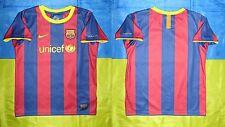 ● RARE FC BARCELONA SEASON 2010/2011 HOME JERSEY NIKE SIZE BOYS (6-7 YEARS) L ●
