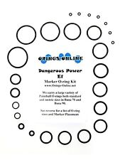 Dangerous Power DP E1 Paintball Marker O-ring Oring Kit x 2 rebuilds / kits