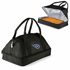 TENNESSEE TITANS Insulated CASSEROLE CARRYING CASE Tailgate Party Game Food Tote