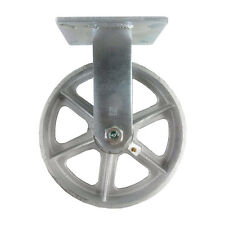"10"" x 3"" Steel Wheel Caster - Rigid"
