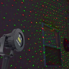 Outdoor Waterproof Laser Light Projector Red Green 4 Modes Xmas Christmas Gift