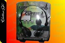 CUFFIE CON MICROFONO PER VOIP PC SKYPE MSN NOTEBOOK MP3 Yahoo TV CUFFIA NUOVE