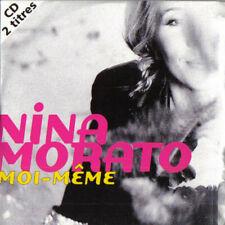 Nina Morato – Moi-Même -  CD SINGLE CARDSLEEVE 2 TITRES 1996