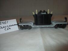 Lionel Transformer Car #2461 Postwar 1948 O Gauge 3 Rail Track,  New