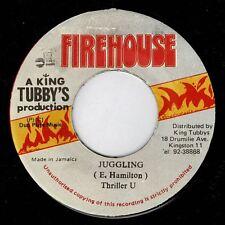 """THRILLER U-juggling  7""""   firehouse  (hear)   digi  reggae"""