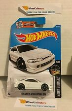 Custom '01 Acura integra GSR #89  * WHITE * NEW * 2016 Hot Wheels * N135