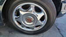 81 to 98 BENTLEY TURBO R L WHEELS RIMS 17 INCHES GOOD CONDITION