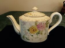 Antique Hand Painted Tea Pot