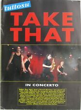 TD tutto su TAKE THAT in concerto Poster Story 1994 Robbie Williams Gary Barlow