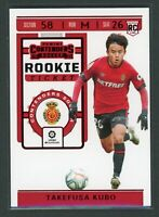 2019-20 TAKEFUSA KUBO PANINI CHRONICLES CONTENDERS ROOKIE RC RED TMALL