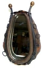 Vintage Horse Collar Mirror W/Hames Beautifully Aged Rustic Charm Country Decor