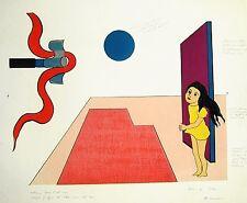 DE ROMANS Marialuisa (Milano 1922), Senza titolo. Litografia a colori