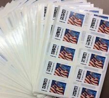 20 USPS Forever US Flag Star Postage $10 FV 2 Sheets of 10 Vending Machine Stamp