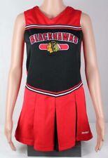 NHL Reebok Blackhawks jersey youth girls dress embroidery short sleeve size 14