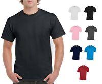 Gildan 5000 Heavy Cotton T-Shirts 5.3oz Mens Short Sleeve Tee S-XL Multi Pack
