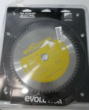 """Evolution Saw Blade 10""""  5200 RPM 66 Teeth Stainless Steel 1"""" Bore"""