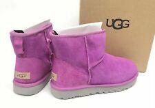 UGG Australia Classic Mini Sheepskin Shearling Boots Pink Glitter 1104110 Women