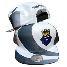 Original Mitchell & Ness Los Angeles Kings Snapback Cap NHL weiss/grau