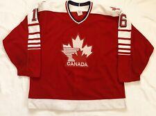 Game Worn Used 1989-90 Eric Murano Canadian National Team Hockey Jersey