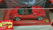 Ferrari 488 Spider 2015 Rosso Tristrato 1/18 lim.ed.148 pcs Display P18120AV BBR