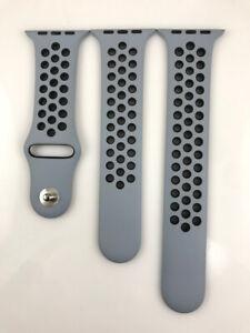 Original Genuine Apple watch Nike Sport Band 42mm 44mm strap Obsidian Mist/Black