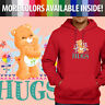 Care Bears Friend Bear Hugs Classic Cartoon Pullover Sweatshirt Hoodie Sweater