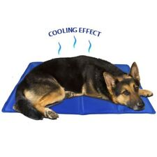 Dog heat relief cooling pad bed cools cooler floor mat liner 90x50 large pet cat