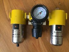 NEW AmPro  Air Regulator with Gauge, 0-160PSI, Air Filter, Lubricator